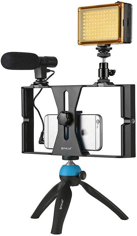 zooarts Video Rig de Smartphone con estabilizador de Toma Manual ...