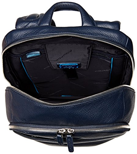 Piquadro ca3214mo mochila, hombres, azul blau, blau