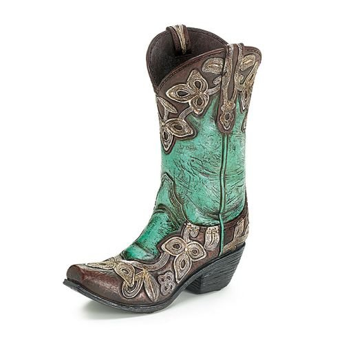 Cowboy Boot Vases - 2
