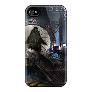 AlexandraWiebe Scratch-free Phone Cases For Iphone 6- Retail Packaging - Stargate Anubis