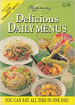 Slimming world delicious daily menus Where can i buy slimming world products