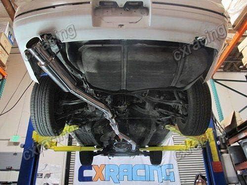 3 Downpipe For 240SX S13 S14 1JZ-GTE 1JZGTE VVTI Swap Stock Turbo