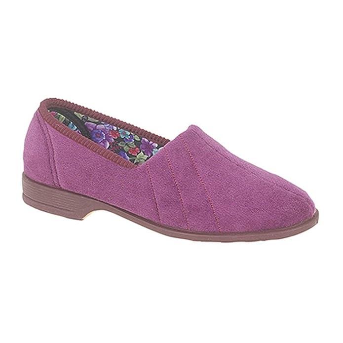 Zapatillas de Estar por casa Modelo Audrey III Roll Top para Mujer: Amazon.es: Zapatos y complementos