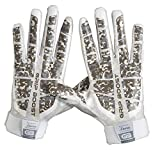 Grip Boost Stealth Super Sticky Football Gloves Pro Elite Football Gloves Youth and Adult Sizes