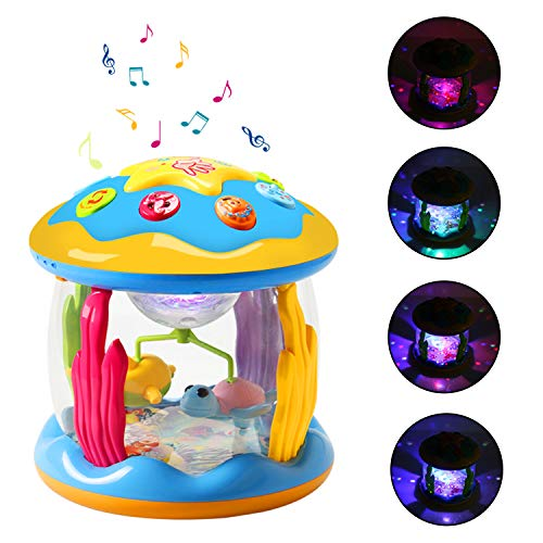 HOMOFY Baby Toys Ocean Park Rotating Projector,Various Pacify