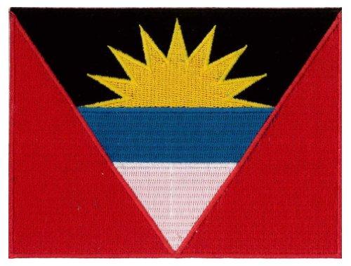Antigua  Country Flag Patch 12 cm x 9cm