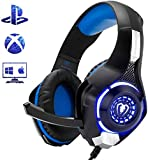 Beexcellent Gaming Headset for PS4 Xbox One PC