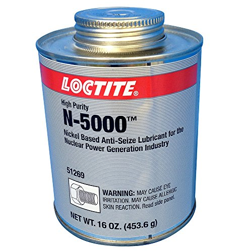 Loctite 51269 LB N-5000 High Purity Anti-Seize Brush Top Can, 1 lb. by Loctite
