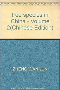 tree species in China - Volume 2