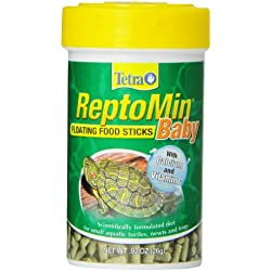 Tetra 16598 ReptoMin Baby Floating Food Sticks, 0.92-Ounce, 100 ml