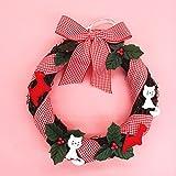Spring Wreath ,Christmas Wreath , Wreath For The Door , Cottage Chic Wreath - Door Decor Little Animal