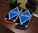 Victory Tailgate Orlando Magic NBA Basketball Desktop Cornhole Game Set Diamond Version
