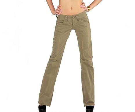 Neuankömmlinge 100% authentifiziert doppelter gutschein Replay Chino Damen Jeans Hose Bootcut WV515 .034 8565.401 ...