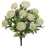 SIlk-Flower-Ranunculus-Bush-in-Cream-175-Tall