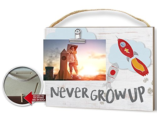 Kindred Hearts 9''x10'' Rockets Never Grow up Clip It Photo Frame by Kindred Hearts