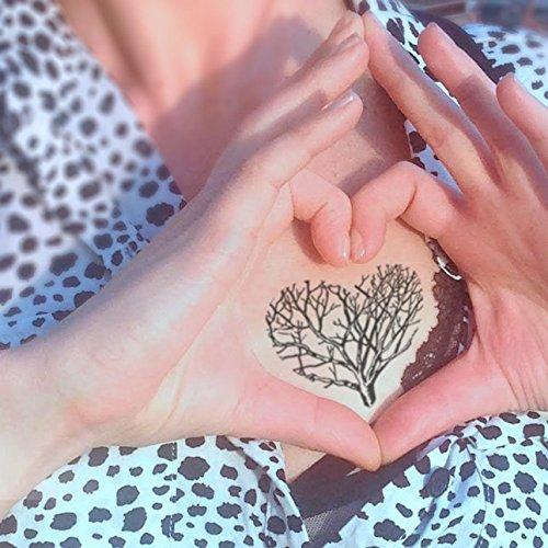 Árbol de amor - Tatuaje temporal (conjunto de 2): Amazon.es: Handmade