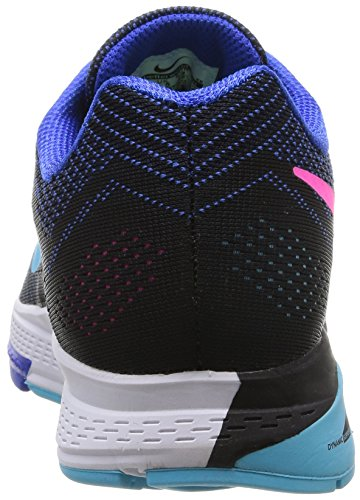 Nike Mujeres Air Zoom Structure 18 Zapatillas De Running Lyon Blue / Clrwtr / Blk / Pnk Pw