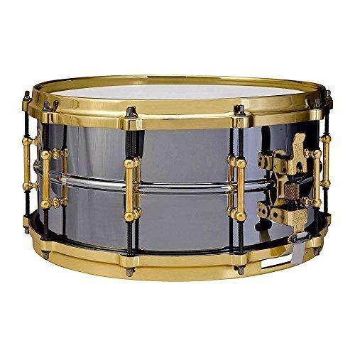 Ludwig [並行輸入品] LB417BT Black Beauty Beauty Brass on Brass Brass 6.5 x 14 Inches Snare Drum [並行輸入品] B07MKRL38B, 美-健康ゴルフ:d74f3456 --- kapapa.site
