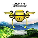 HASAKEE H1 FPV RC Drone with HD Live Video Wifi Camera and Headless Mode 2.4GHz 6-Axis Gyro Quadcopter with Altitude Hold and Gravity Sensor RTF Function,Good for Beginners