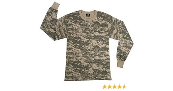 Amazon.com  Army Universe ACU Digital Camouflage Boys Long Sleeve T-Shirt  (Large)  Military Apparel Shirts  Clothing 1d5d3ba5096