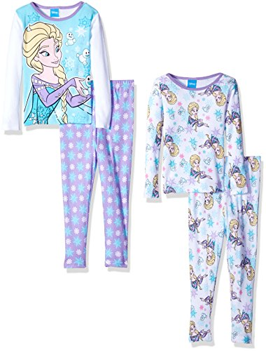 Disney Frozen Sisters Four Piece Pajama