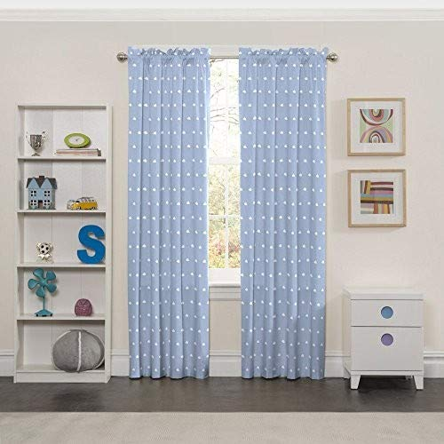 ECLIPSE Kids Curtains for Bedroom - Cozy Cumulus 42