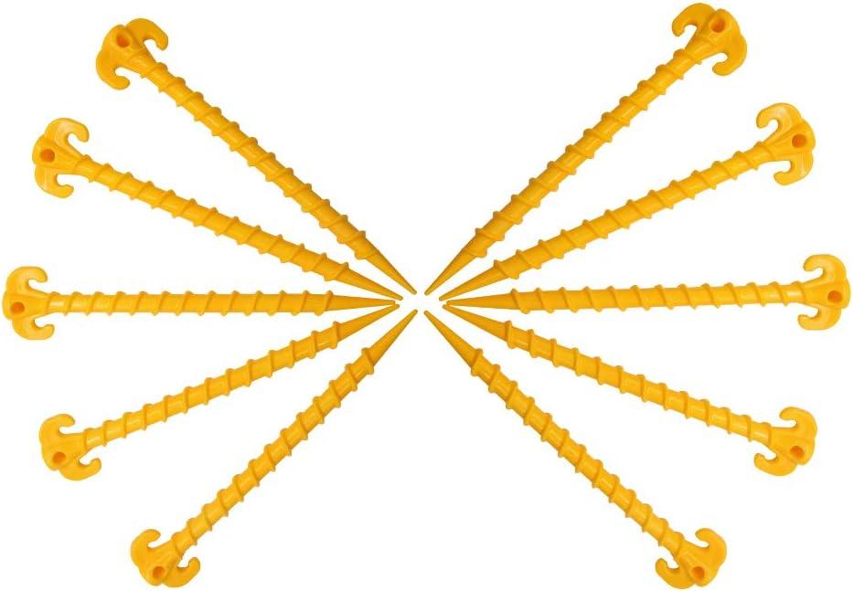 8 Pezzi 10 Pezzi 25 cm Picchetti per Tenda Tzt 20 cm