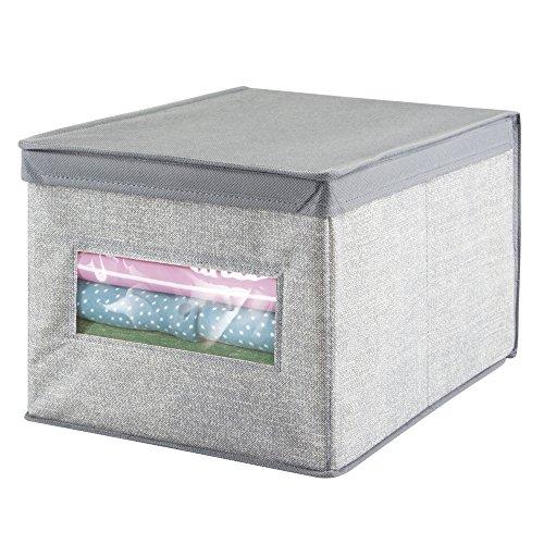 mDesign Storage Organizer Clothing Handbags