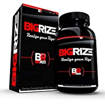 Bigrize Top Rated Male Enhancement Pills, 60 Capsules - Increase Size, Energy, Male Enhancement, Stamina, Vitality, Mood, Male Enlargement, Libido