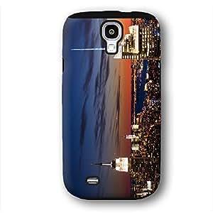 New York Skyline Sunset Dusk Samsung Galaxy S4 Armor Phone Case