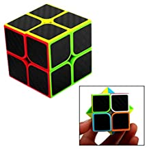 OFKPO Speed Magic Cube 2x2 Smooth Super Durable With Bright Colors Rubik's Cube For Brain Training Game Or Holiday Gift