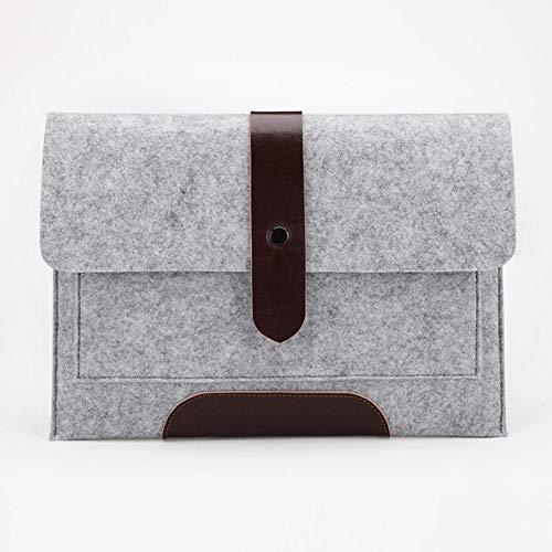 ZZTT Felt Cloth Laptop Bag Flat Notebook Bag Notebook case,B,12inchMacbookAir