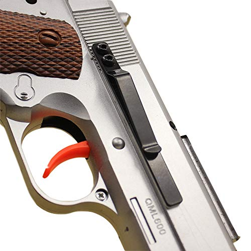 YAHOUHEI ClipDraw Gun Clip, Low Profile Slim Concealed Carry Easy Install American Made