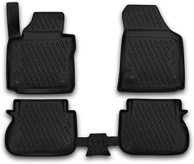 Element Exp Carvlk00003 Passgenaue Premium Antirutsch Gummimatten Fußmatten Für Vw Caddy Iv 2015 02 2020 Schwarz Passform Auto