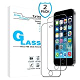 iPhone SE Screen Protector - KATIN [2-Pack] Apple iphone SE , iPhone 5C
