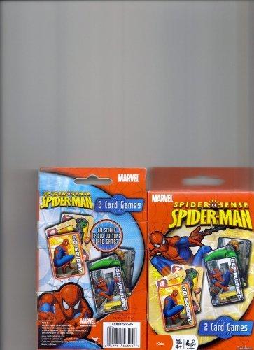 Spider-Man Spider Sense 2 card games Go-Spidey & Old Vulture