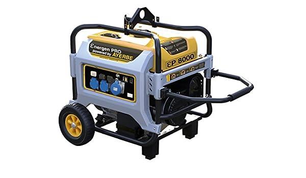 Ayerbe ENER-GEN PRO 3500 Generador, 3000W: Amazon.es: Industria ...