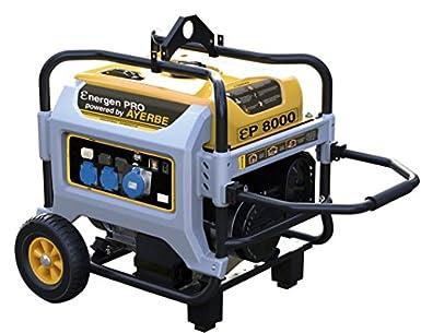 Ayerbe 5432010 - Generador energen pro 6600 grupo 3.600 rpm: Amazon.es: Amazon.es