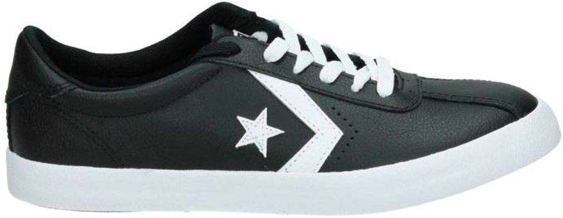 kids black and white converse