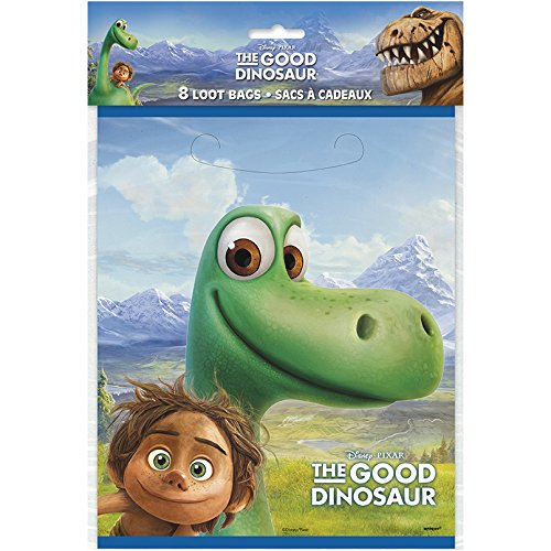 Unique The Good Dinosaur Party Loot Bags, 1 Pack