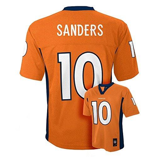 Emmanuel Sanders Denver Broncos #10 Orange NFL Kids Home Mid Tier Jersey Kids 5/6