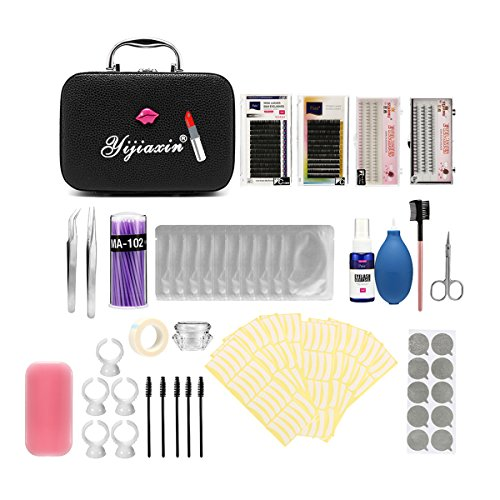 22PCS Eyelash Grafting Set Eyelash Extension For Starter Use Grafting Set Eyelashes,Lash Starter Kit, Eyelashes Extension Practice Set