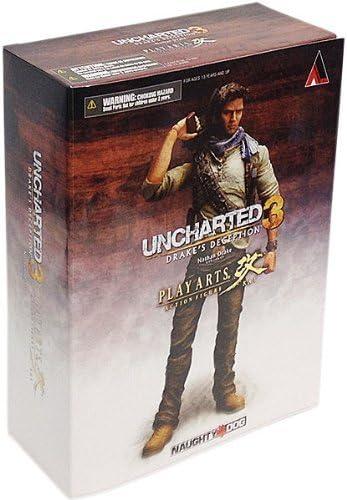 Amazon Com Uncharted 3 Play Arts Kai Series 1 Action Figure