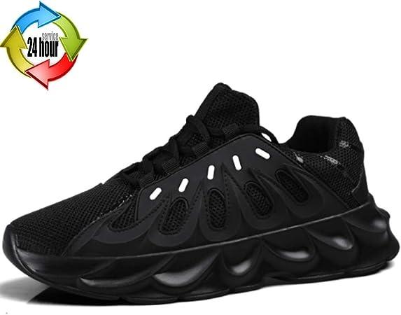 Zapatos para Hombre Deportes De Exterior Pirables De Primavera para Hombre Calzado Antideslizante Resistente Al Desgaste. Zapatillas De Hombre con Estilo (Color : Black, Size : 8.5): Amazon.es: Hogar