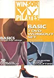 Winsor Pilates Basic 3 DVD Workout Set (Basics Step-by-Step / 20 Minute Workout / Accelerated Body Sculpting)