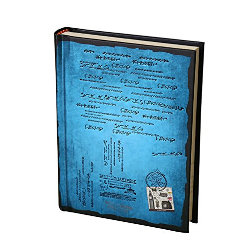 Tinksky Journal Diary Hard Cover Diary Notebook Journals Notepad - Size L (Blue)