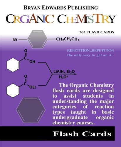 Organic Chemistry (Flash Cards)