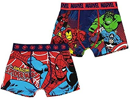 Marvel Avengers Spiderman Boys  Cotton Briefs Underwear 6 Pack Size 6 Handcraft