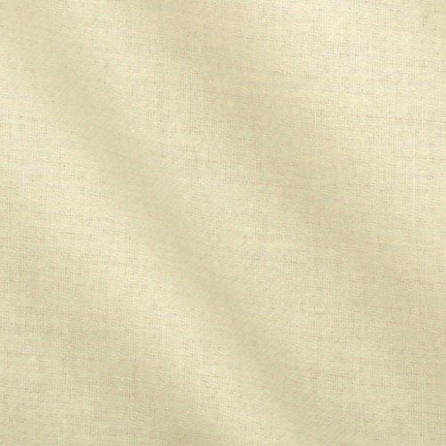 Roc-lon Sonata Sateen Drapery Lining Ivory Fabric by The - Sonata Ivory