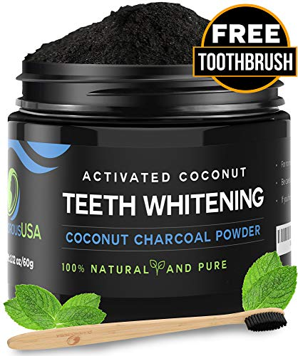 Activated Charcoal Whitening Toothbrush BRIGHTENS product image